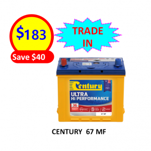 67 MF UHP – CARS & PASSENGER VEHICLES BATTERY
