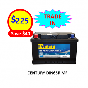 DIN65R - CARS & PASSENGER VEHICLES BATTERY