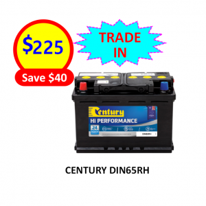 DIN65RH - CARS & PASSENGER VEHICLES BATTERY