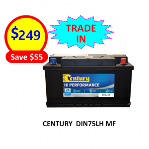 DIN75LH MF - CARS & PASSENGER VEHICLES BATTERY