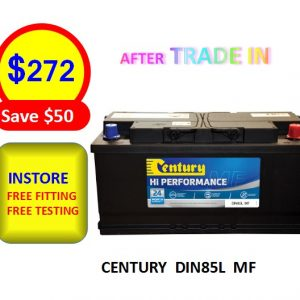 DIN85L MF - CARS & PASSENGER VEHICLES BATTERY