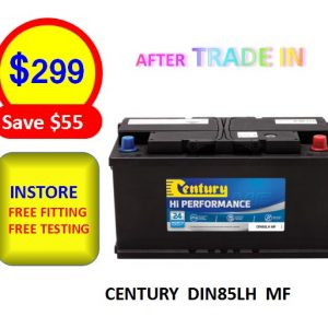 DIN85LH MF - CARS & PASSENGER VEHICLES BATTERY