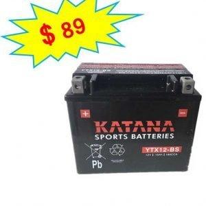 katana Motorcycle Battery YTX12-BS