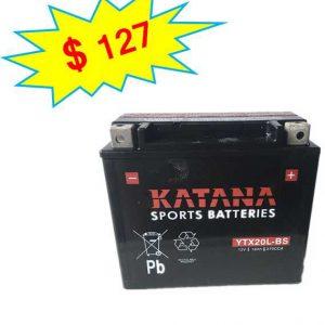 katana Motorcycle Battery YTX20L-BS